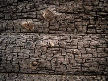 Burning Wood Texture