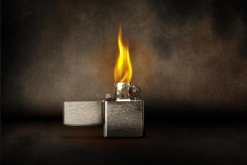 Burning Lighter