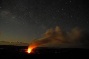 Burning Volcano
