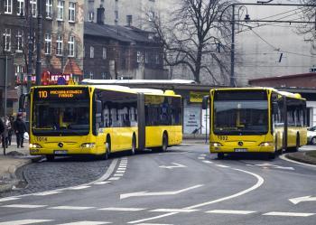 Bus in Katowice