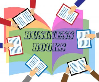 Business Books Means Commerce Education And Information