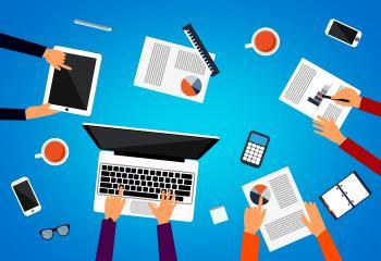Business meeting - Teamwork concept