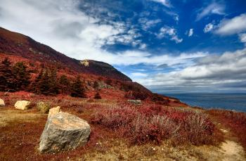 Cabot Trail Coastal Scenery - HDR