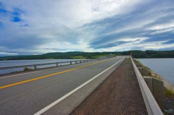 Cabot Trail Scenic Route - HDR