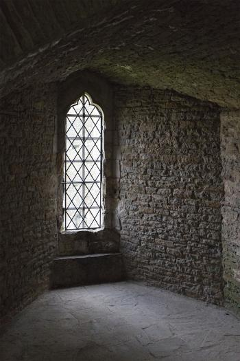 Caerphilly Castle Window