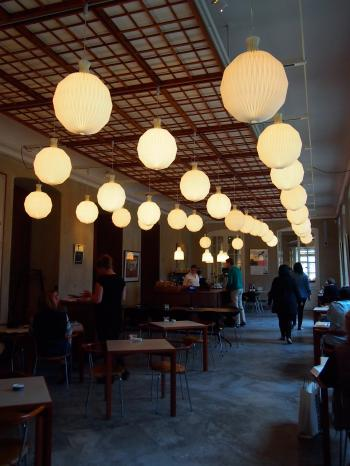 Cafe at Design Museum, Copenhagen