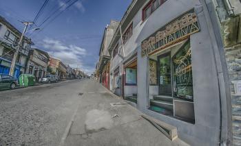 Calle Blanco Encalada. Castro - Chiloé - Chile.