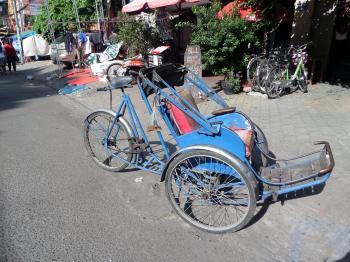 Cambodian cyclo