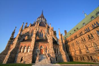 Canadian Parliament Library - HDR