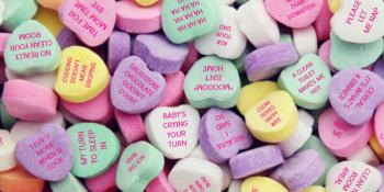 Candy Hearts I Love You