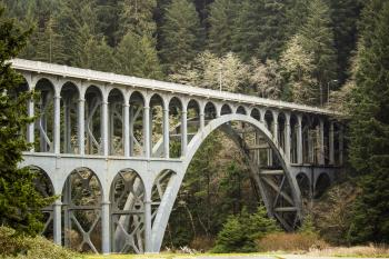 Cape Creek Bridge, Oregon