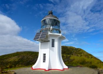 Cape Reigna Lighthouse. NZ