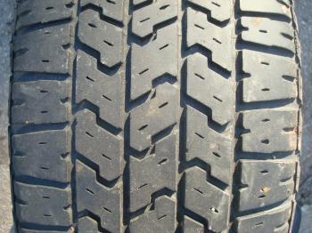Car tire texture