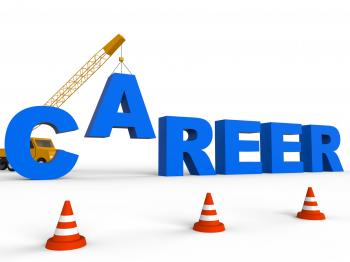 Career Represents Executive Job Search 3d Rendering