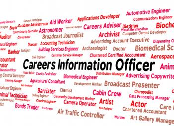 Careers Information Officer Represents Employment Knowledge And