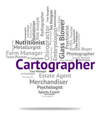 Cartographer Job Represents Land Surveyor And Career