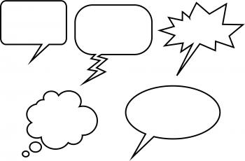Cartoon Word Balloons