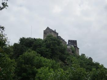 Castle in Oberwesel, Germany