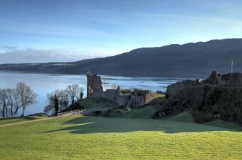 Castle Urquhart on Loch Ness.