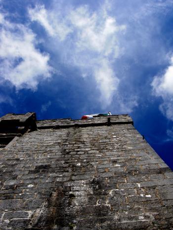 Castle Wall - Flag