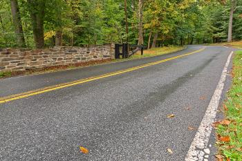 Catoctin Mountain Road - HDR