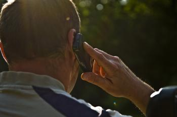 Cell phone calling man