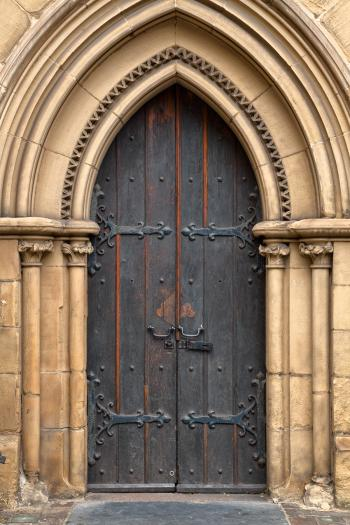 Chapel Door - HDR