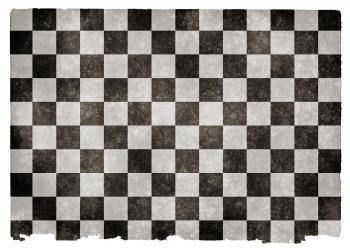 Checkered Grunge Flag