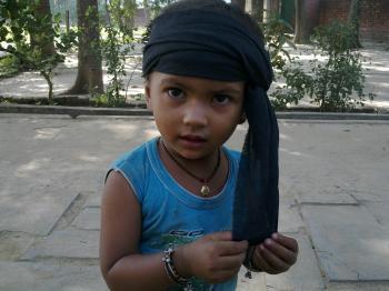 Child with Turban