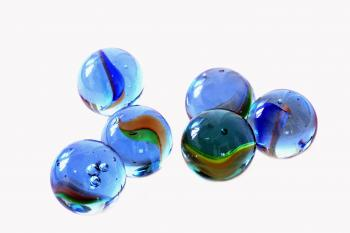 Children's Glass Marbles