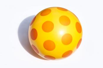 Childrens toy beach ball