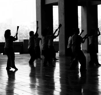 Chinese Fan Dancers