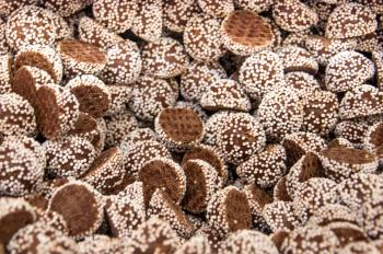 chocolate candy with spinkles