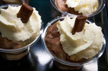 chocolate mouse whipped cream