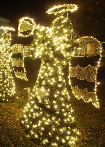 Christmas angel trumpet