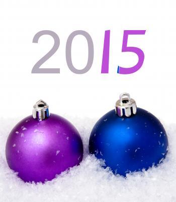 Christmas balls 2015