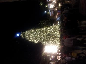 Christmas Tree at Faneuil Hall