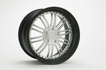 Chrome Multi Spokes Car Wheel