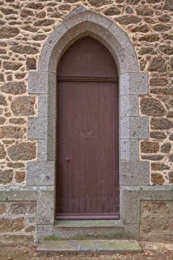 Church Door - HDR