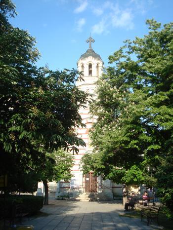 Church in the park - Varna, Bulgaria