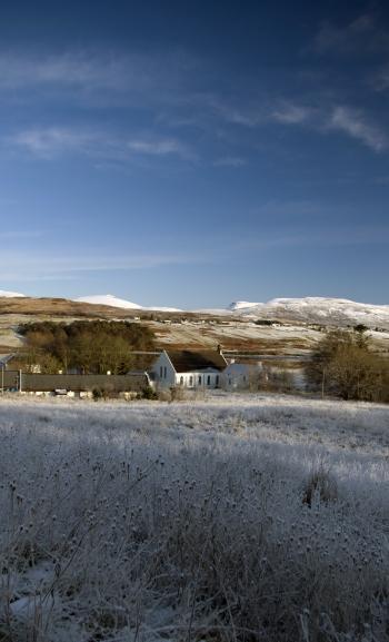 Church, Isle of Skye - Winter