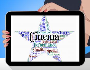 Cinema Star Indicates Picture Show And Filmography