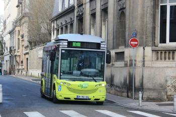 CITURA - Bolloré Bluebus n°89 - Ligne Citybus