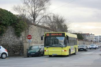 CITURA - Heuliez Bus GX 317 n°256 - Ligne 11