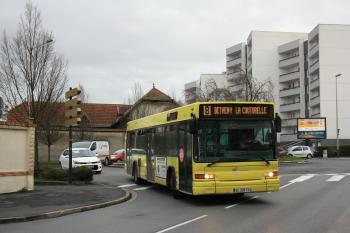 CITURA - Heuliez Bus GX 317 n°258 - Ligne 8