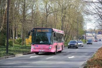 CITURA - Heuliez Bus GX137 L n°539 - Ligne 7