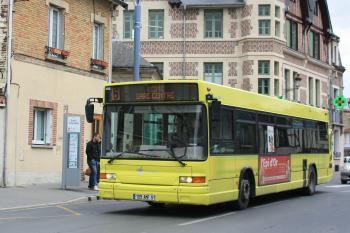 Citura - Heuliez Bus GX317 n°256 - Ligne 6