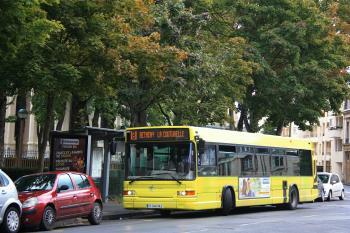 CITURA - Heuliez Bus GX317 n°256 - Ligne 8