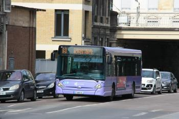 CITURA - Heuliez Bus GX327 n°328 - Ligne 9