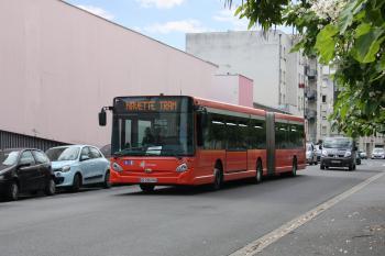 Citura - Heuliez Bus GX427 n°903 - Ligne TRAM